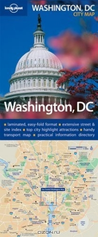 Lonely Planet Washington, D.c. City Map (Lonely Planet Washington D.C. City Map)